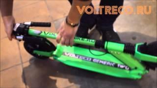 Электросамокат Generic Eco Green Зеленый Вольтрэко Voltreco.ru 2016