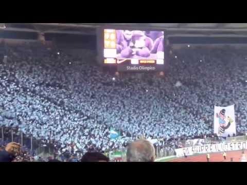 Roma-Lazio 3-2, Curva Sud e Curva Nord: il derby del tifo