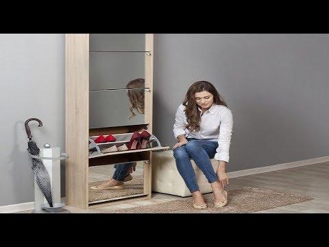Шкаф для обуви в прихожую своими руками фото