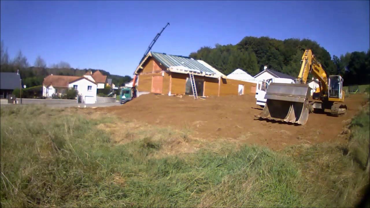 Plan de montage dune maison ossature bois for Montage maison bois