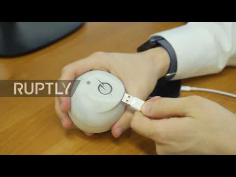 Belarus: Shake it! Student invents charger powered by movement