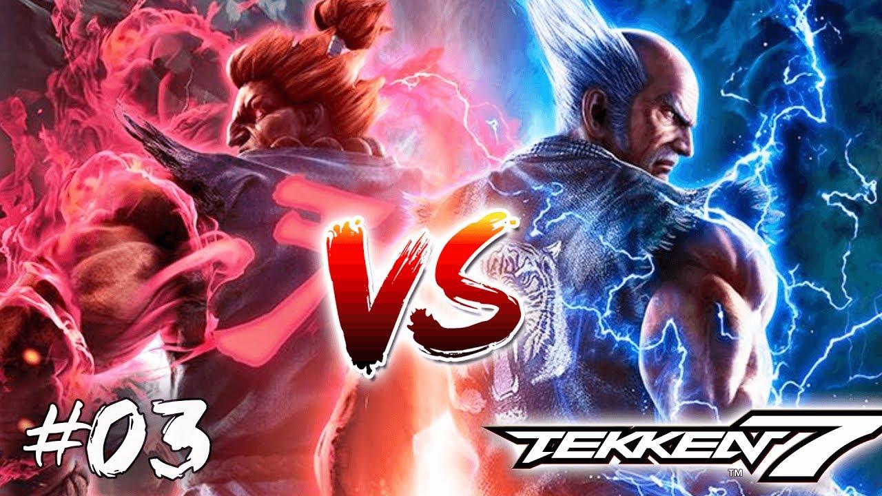 Tekken 7 Fr Episode 3 Akuma Vs Heihachi Gameplay Ps4 Pro