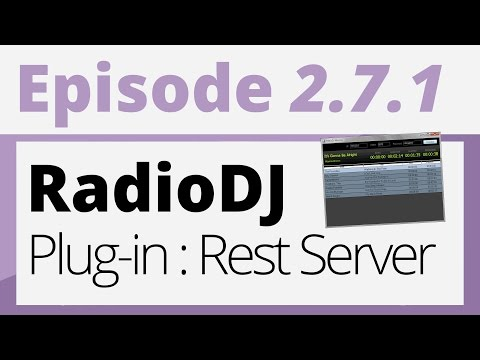 Créer sa radio - 2.7.1 - Plug-in : Rest Server (Radio DJ)