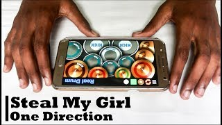 Steal My Girl - One Direction ( Real Drum App Cover) - By Vijay Yadavar.