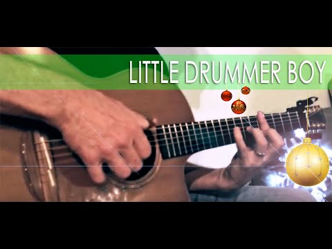 Little Drummer Boy -- solo fingerstyle guitar by ThinkingDog