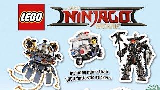 More LEGO Ninjago Movie sets and minifigures revealed!