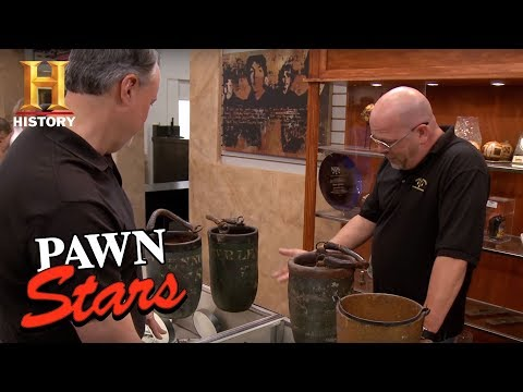 Pawn Stars: Antique Fire Buckets | History