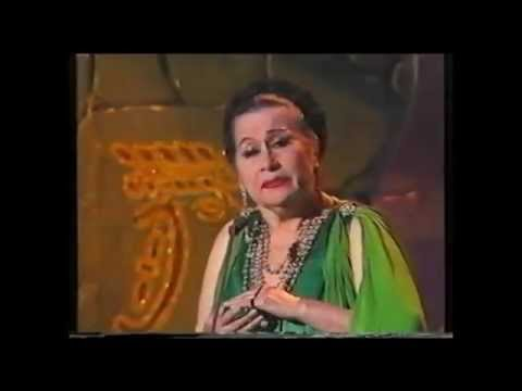 Yma Sumac gets furious and leaves stage /