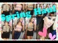 Haul Time- TRY ON style!!  Spring Wear!!  Forever 21 sheinside ♥ (