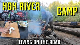 Hoh River Camp - Liטing on the Road