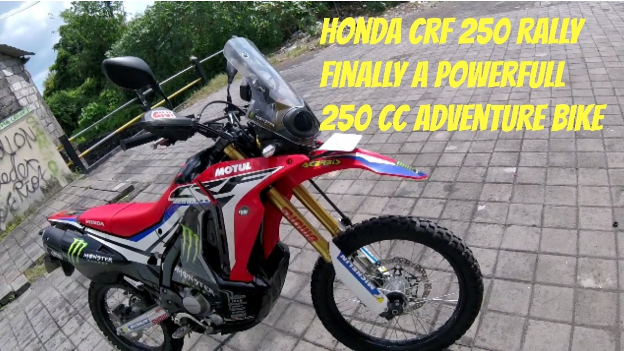 Honda Crf 250 Rally Test Ride And Review Part 1 On The Road Youtube