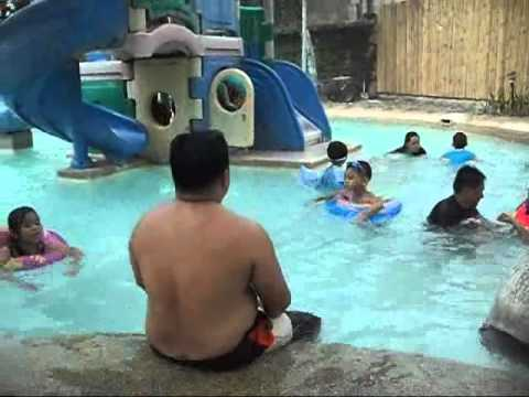 fibi and soi2 swimming @ country village hotel