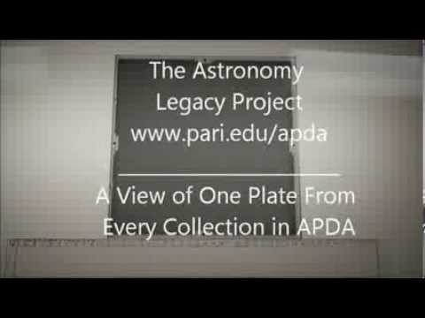 APDA photographic plates