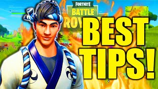 HOW TO BE A FORTNITE GOD SEASON 7! FORTNITE TIPS AND TRICKS HOW TO GET BETTER AT FORTNITE!