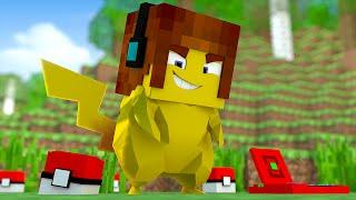 Minecraft : VIREI UM POKÉMON !! ( Nossa Aventura #01)