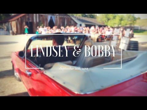 Bobby & Lindsey Crocker | Greengate Ranch Wedding Video
