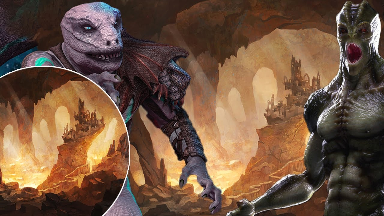 They're Here on Earth!... (Strange Reptilian Beings Are Living Underground)