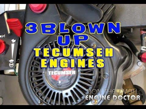 3 Blown Up Tecumseh Engines!