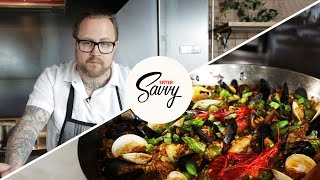 Paella Like A Pro With Jamie Bissonnette