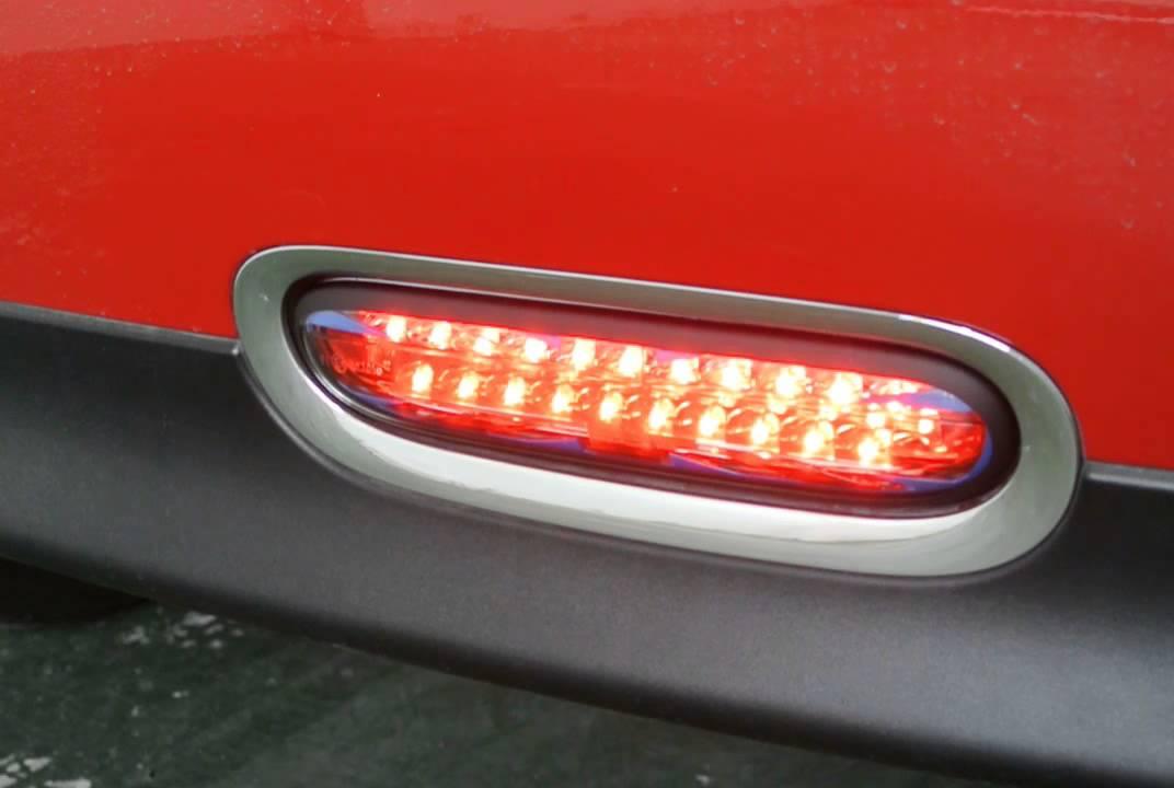 Mini Cooper Accessories 2013 >> (ST AUTO) MINI COOPER R56 LED Rear Fog Lamp (Union Jack) - YouTube