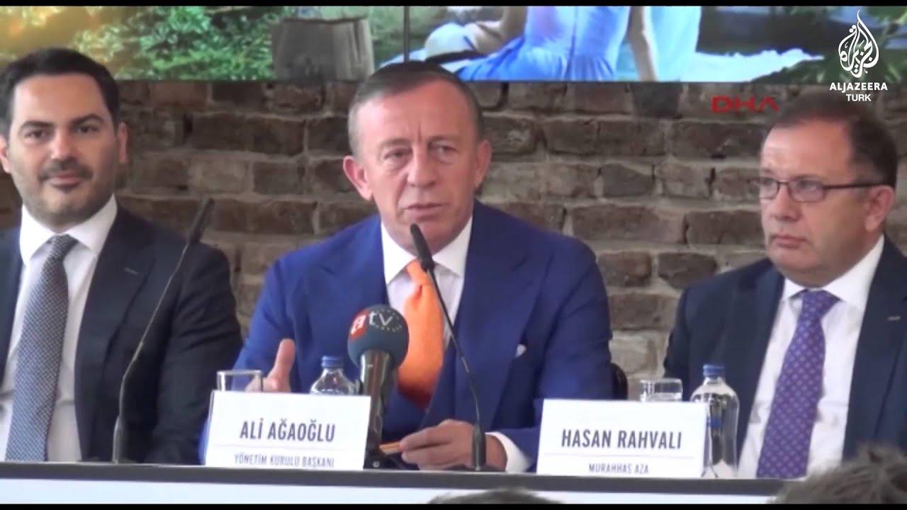 Ali Ağaoğlu: Millet fakir tabii karanfil bırakıyor, ben gül bıraktım.