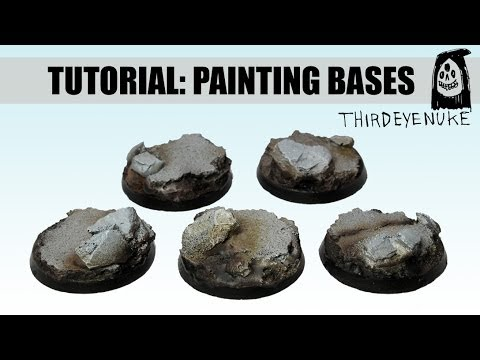 Warhammer 40k articles an easy guide to advanced basing techniques.