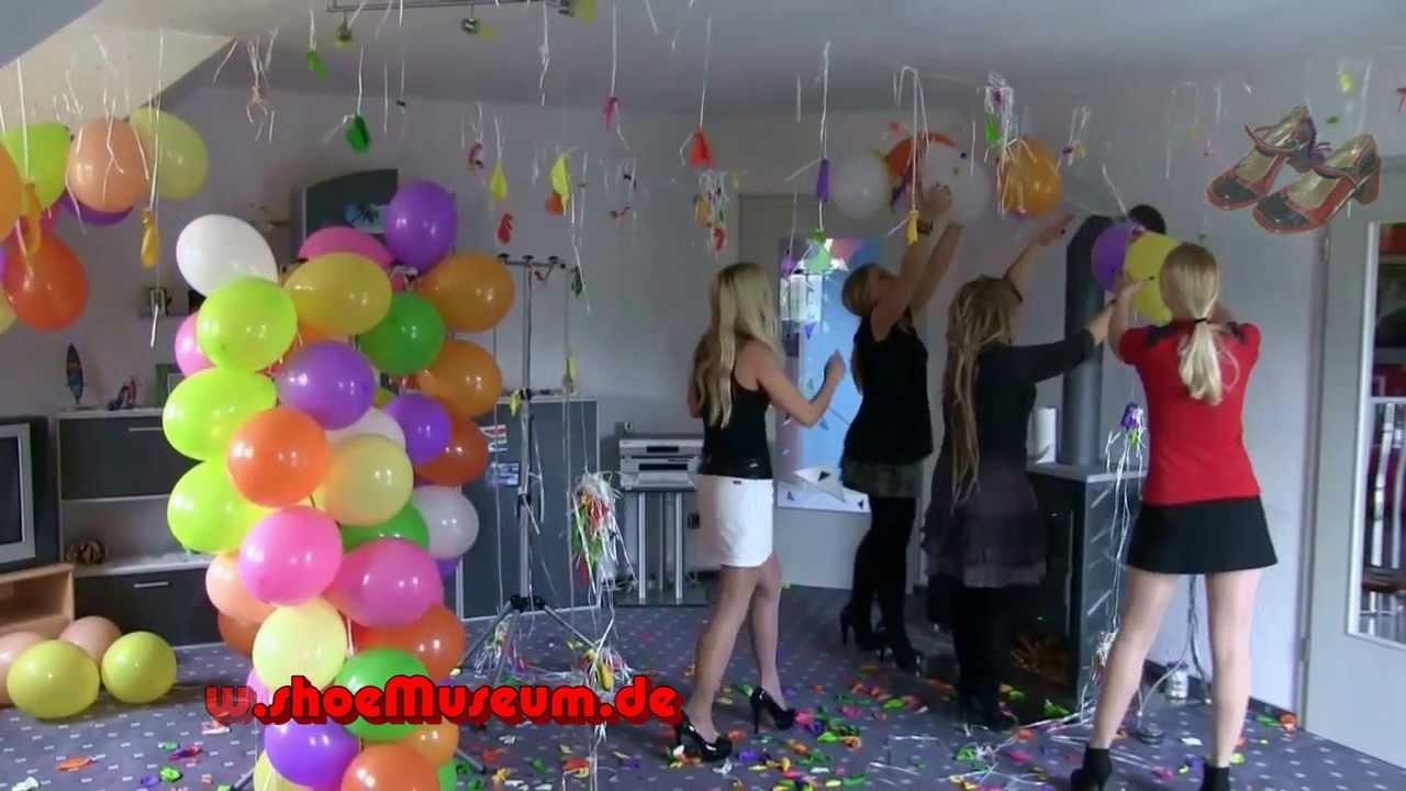 spiele mit luftballons