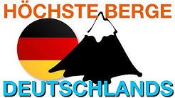Die 10 höchsten Berge Deutschlands