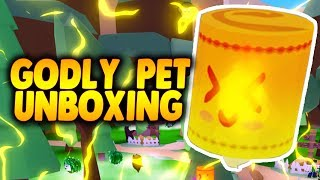OPENING 30+ BOSS CHEST! + UNBOXING FIRST GODLY PET! | Ghost Simulator in Roblox | iBeMaine