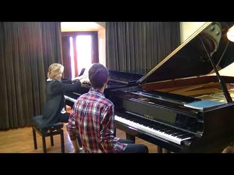 Clase magistral Ana Guijarro / Bach: preludio y fuga BWV 846