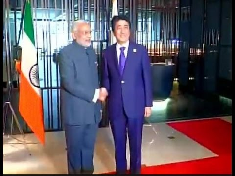 Asean-India Summit 2015 | Indian Flag Upside Down at Modi-Abe Meet