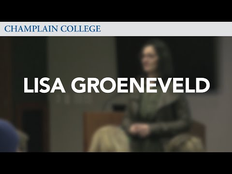 Lisa Groeneveld: Speaking from Experience
