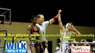 The John Mendola Show Vito Pasone Jr. Appalachian State University