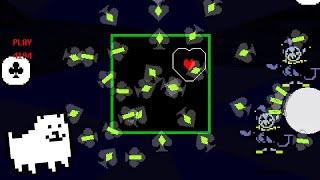 Triple Jevil TAS hitboxes explained
