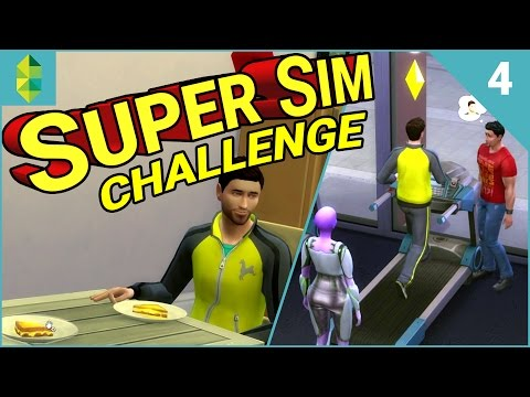 SUPER SIM CHALLENGE | Morning AND Night Sim? (Part 4)