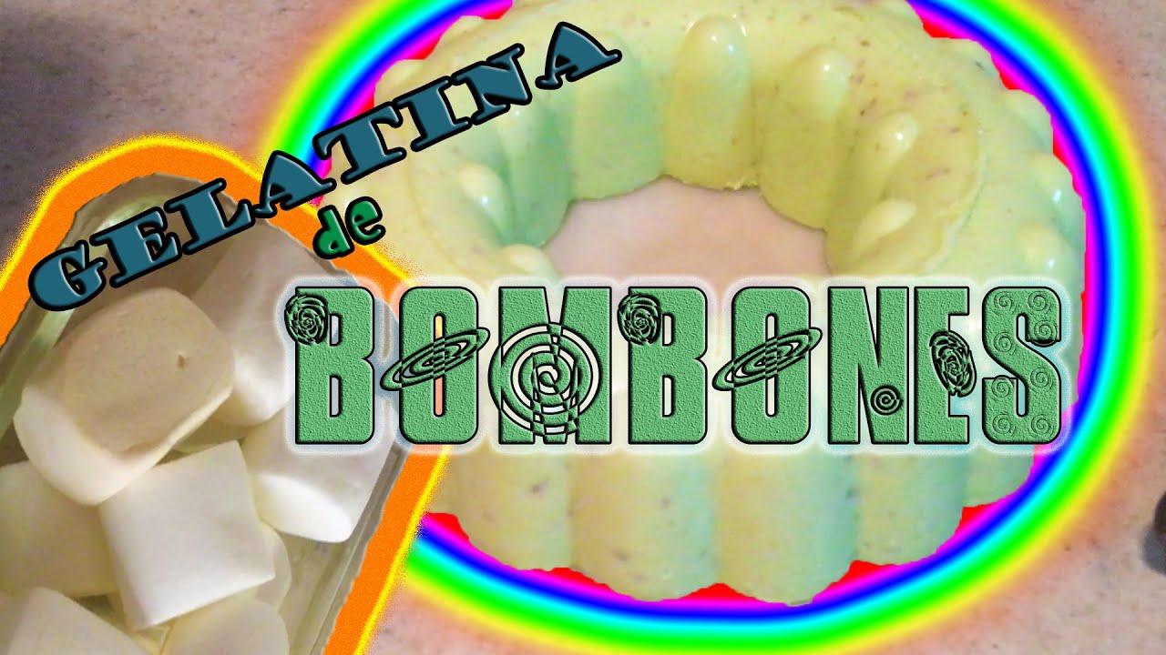GELATINA DE BOMBONES (RICO POSTRE) - EO092
