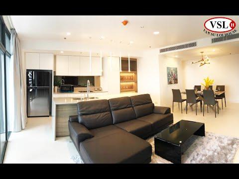 Căn hộ CITY GARDEN cho thuê 3PN-140m2, Full nội thất-View Landmark 81   VẠN SỰ LỢI HOUSE