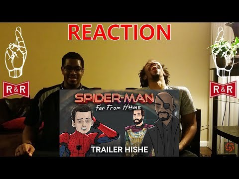 Spider-Man Far From Home Trailer HISHE REACTION | R&R