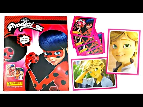 ¡Álbum de pegatinas oficial de Miraculous Ladybug!