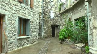 FRANCE Ruoms, Ardeche (hd-video)