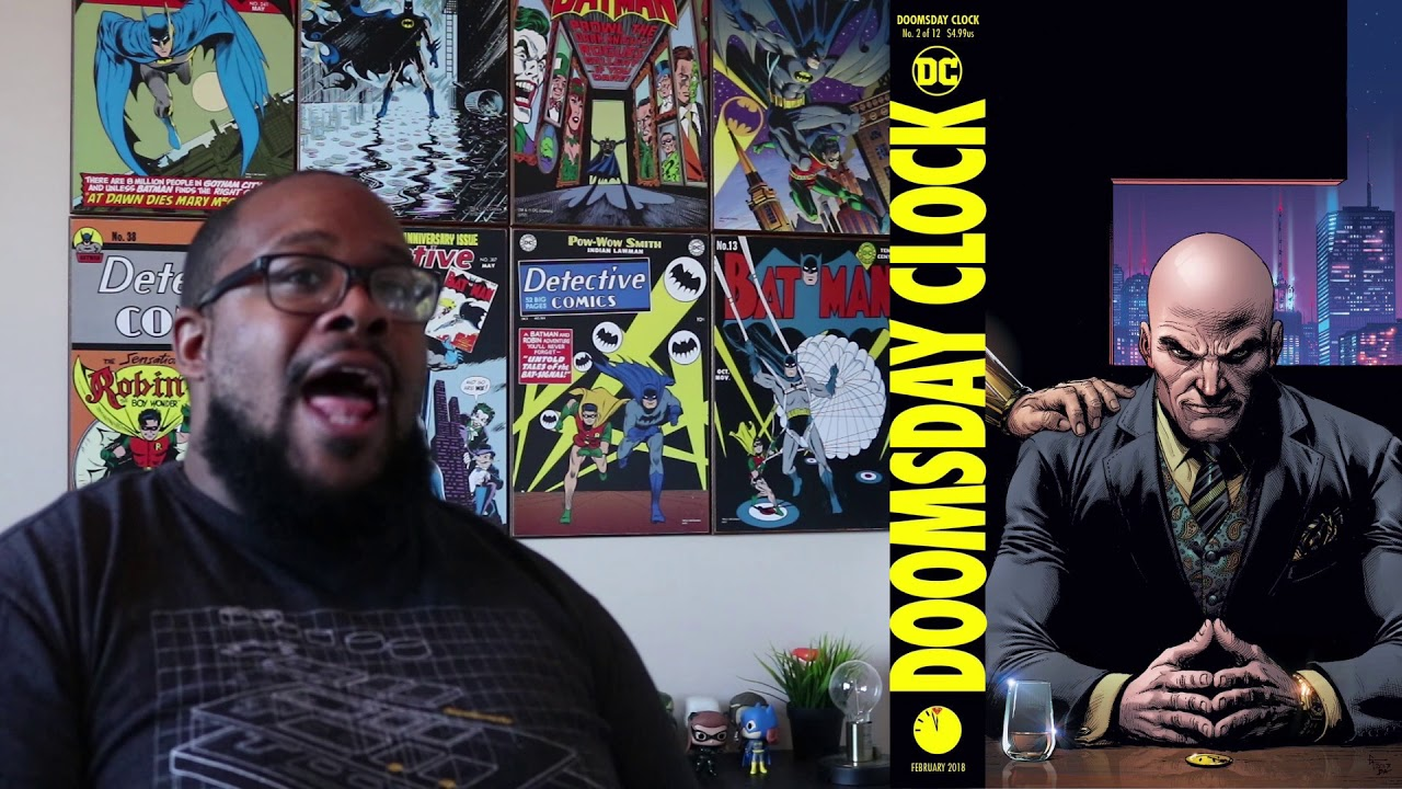 Dc Doomsday Clock Issue 2 Cover Reveal Youtube