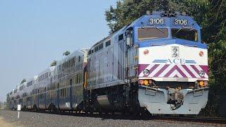 (9-07-16) [HD 60FPS] Evening ACE Train Action in Pleasanton