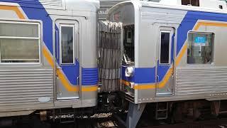 南海高野線 北野田駅 6200系+6000系(6552+6907編成) 快急なんば行発車