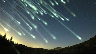 Une pluie de météorites à ne pas manquer