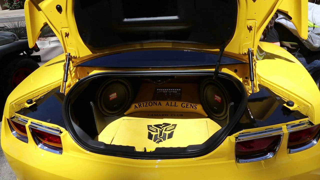 TRANSFORMERS CAR BUMBLEBEE TALKING  YouTube