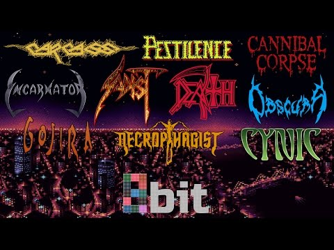 Technical Death Metal bands in 8bit NES