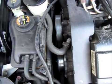 Serpentine Belt Replacement Using A Breaker Bar Ford