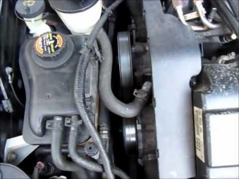 Serpentine belt replacement using a breaker bar  Ford