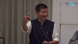 President Dr. Lobsang Sangay at the 7th annual IAFAC Lecture