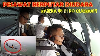 Download Video Berputar Diudara Sebelum Mendarat di Bandara Kertajati MP3 3GP MP4